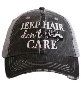 Jeep Hair Don't Care Truckers Cap