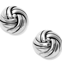 Brighton Interlok Knot Post Earrings