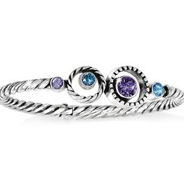 Brighton Halo Hinged Bangle