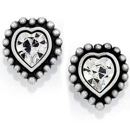 Brighton Shimmer Heart Mini Post Earrings