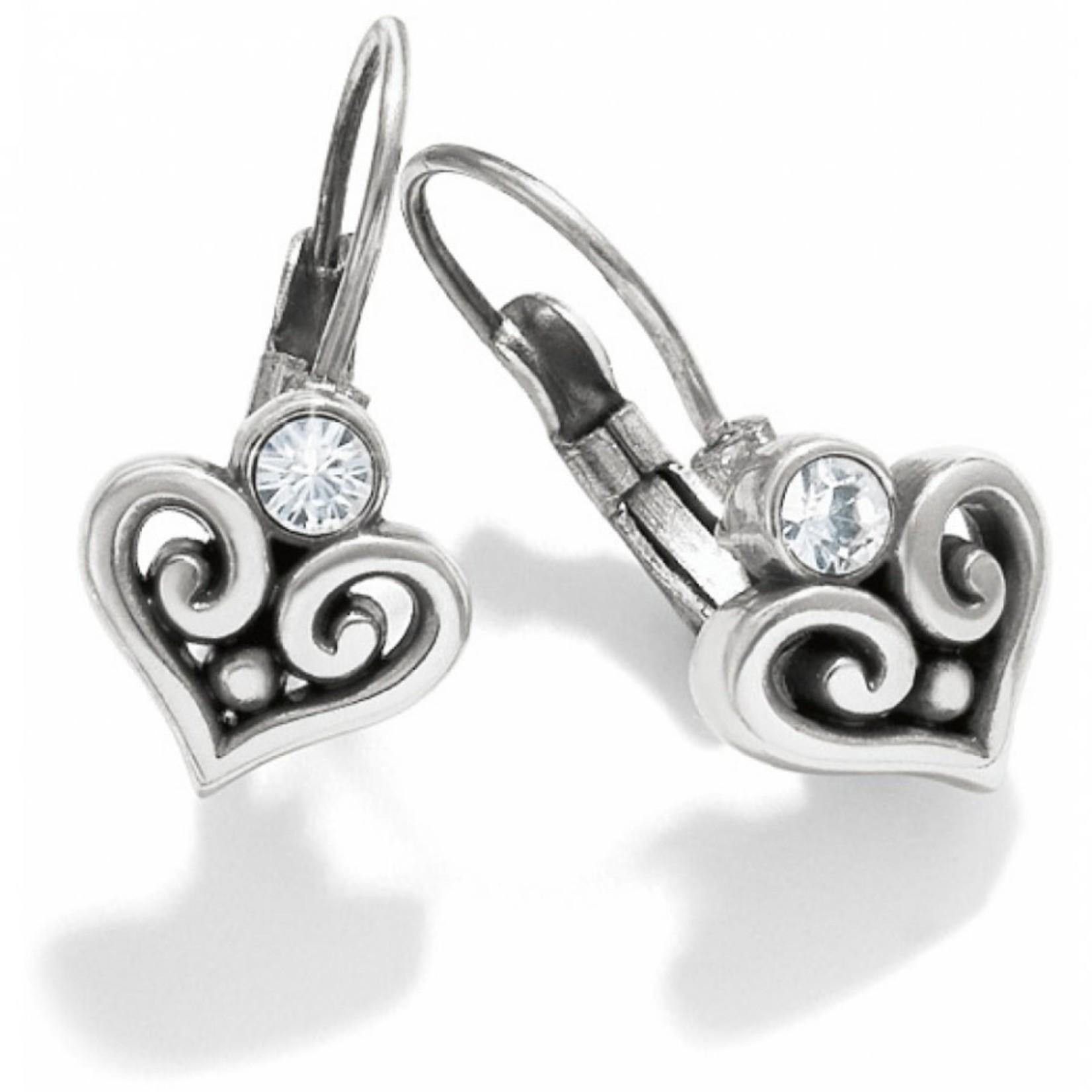 Brighton Alcazar Heart Leverback Earrings