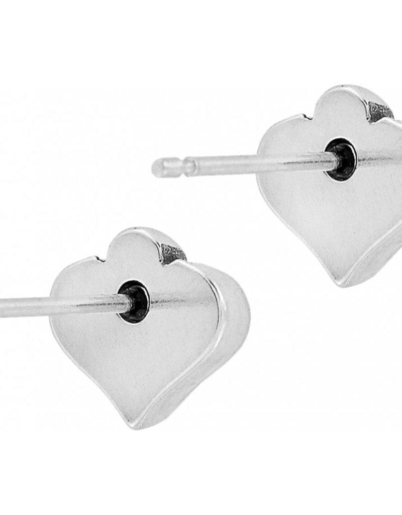Brighton Alcazar Heart Mini Post Earrings