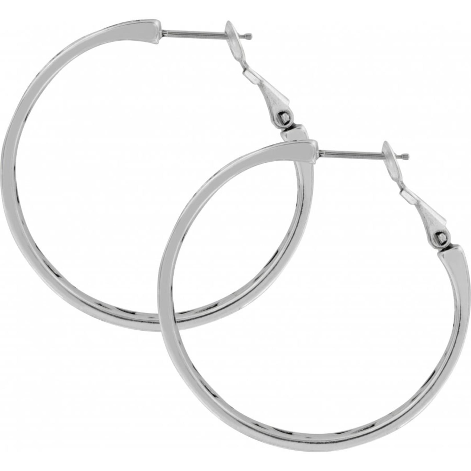 Brighton Contempo Medium Hoop Earrings