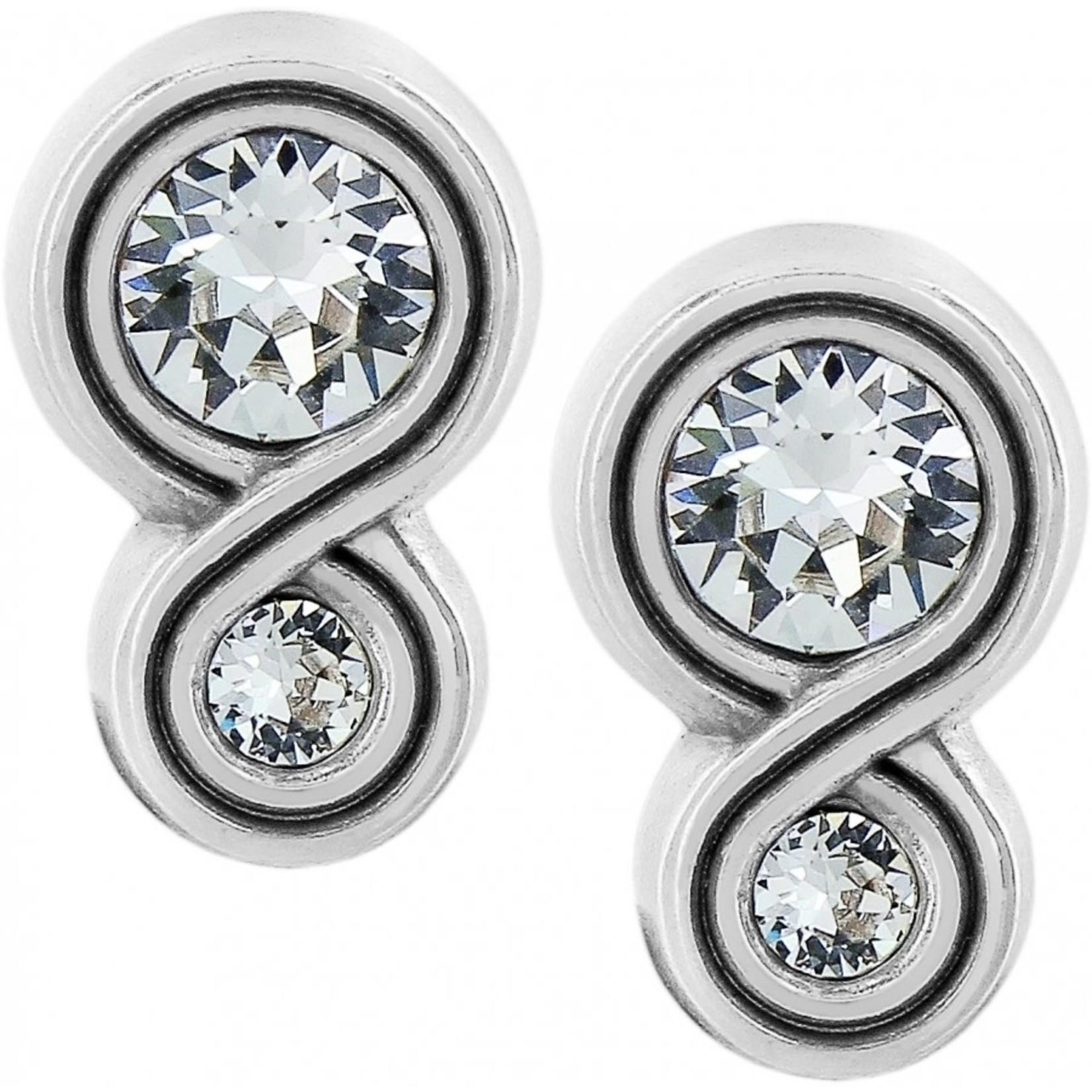 Brighton Infinity Sparkle Post Earrings