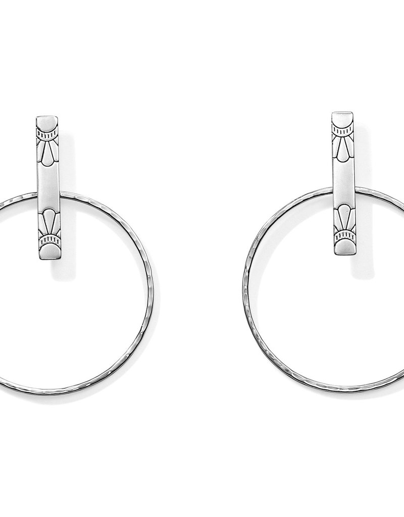 Brighton Marrakesh Soleil Post Hoop Earrings