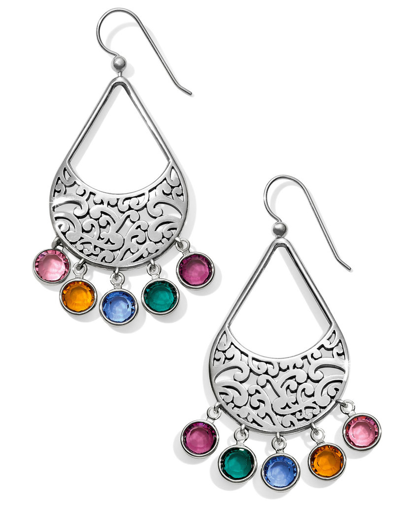 Brighton Elora Gems Drops French Wire Earrings