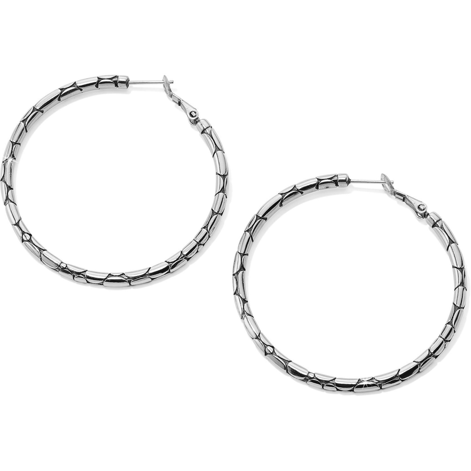 Brighton Pebble Large Hoop Earrings