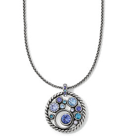 Brighton Halo Necklace Tanzanite
