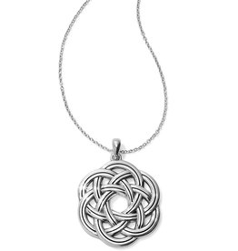 Brighton Interlok Eternity Circle Necklace
