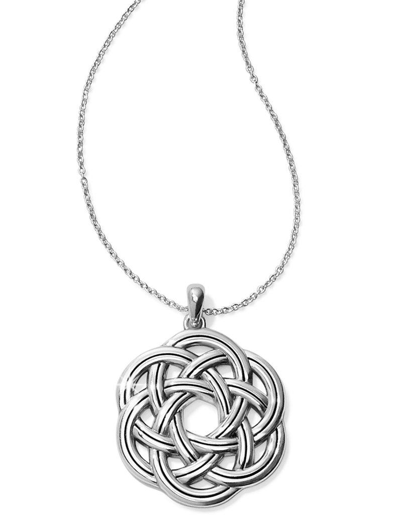 Brighton Interlok Eternity Circle Necklace