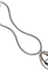 Brighton Neptune's Rings Black Convertible Pendant Necklace