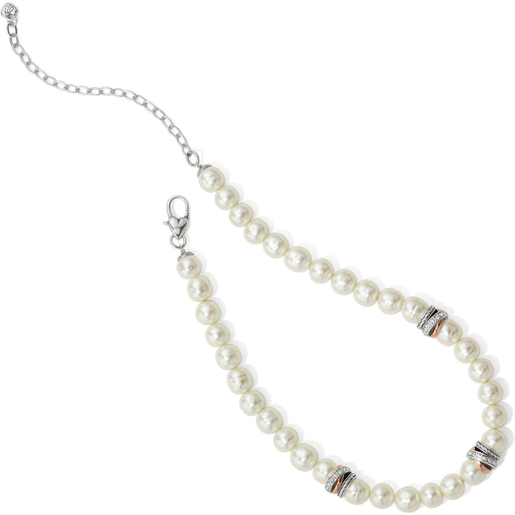 Brighton Neptune's Rings Pearl Short Necklace