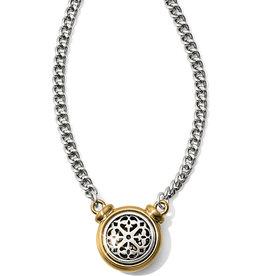 Brighton Ferrara Two Tone Short Necklace