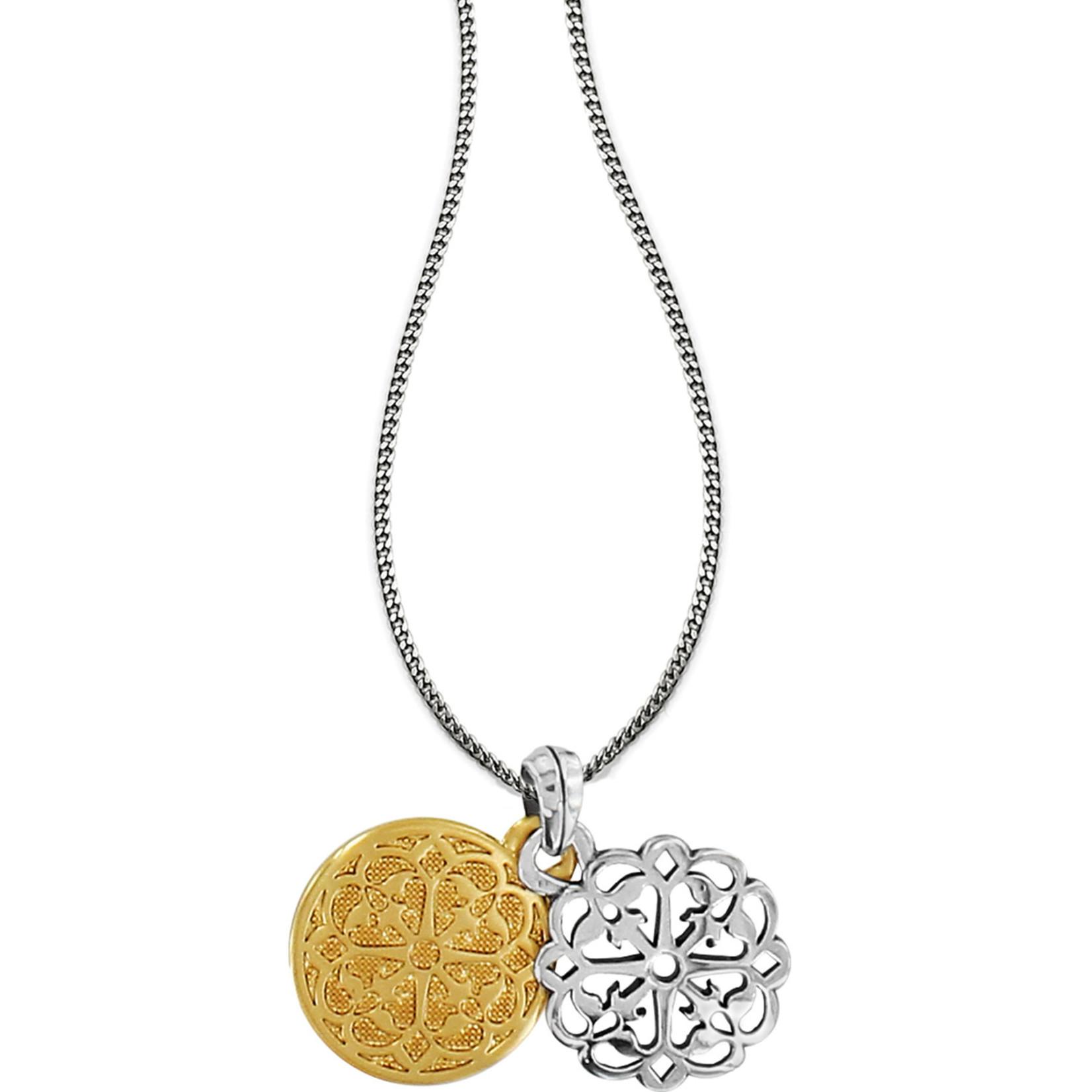 Brighton Ferrara Two Tone Reversible Long Necklace