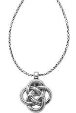 Brighton Interlok Badge Clip Necklace