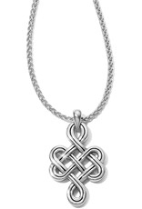 Brighton Interlok Endless Knot Petite Necklace