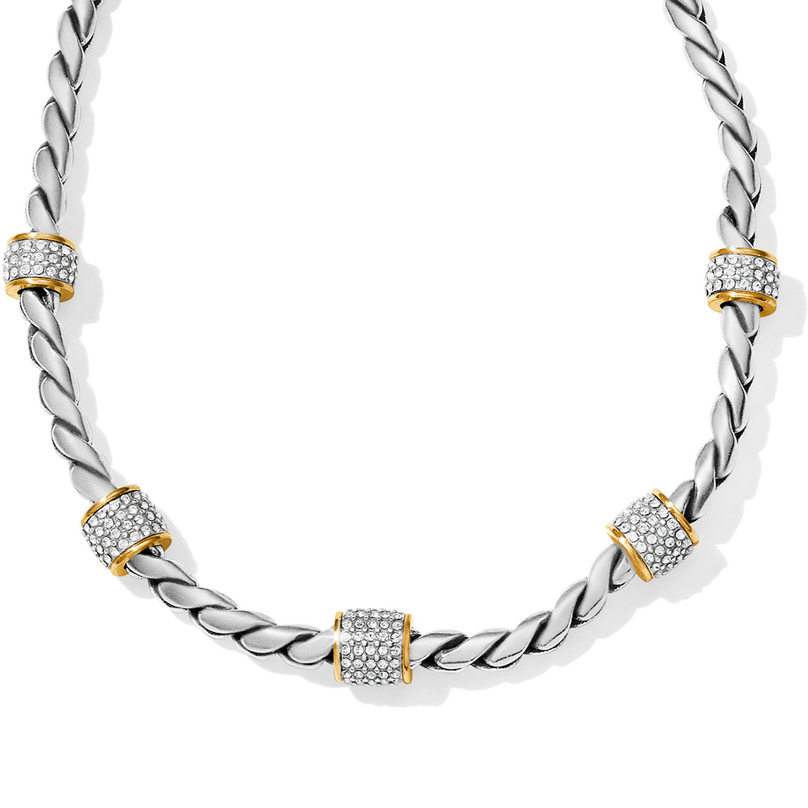 Brighton Meridian Necklace in Two Tone