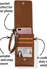 Brighton Pretty Tough Phone Organizer Bourbon