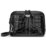 Brighton Jojo Domed Organizer Black Croco
