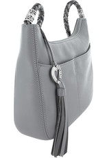 Brighton Baby Barbados Crossbody Hobo Dove