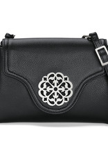 Brighton Eve Messenger Crossbody Ferrara Black