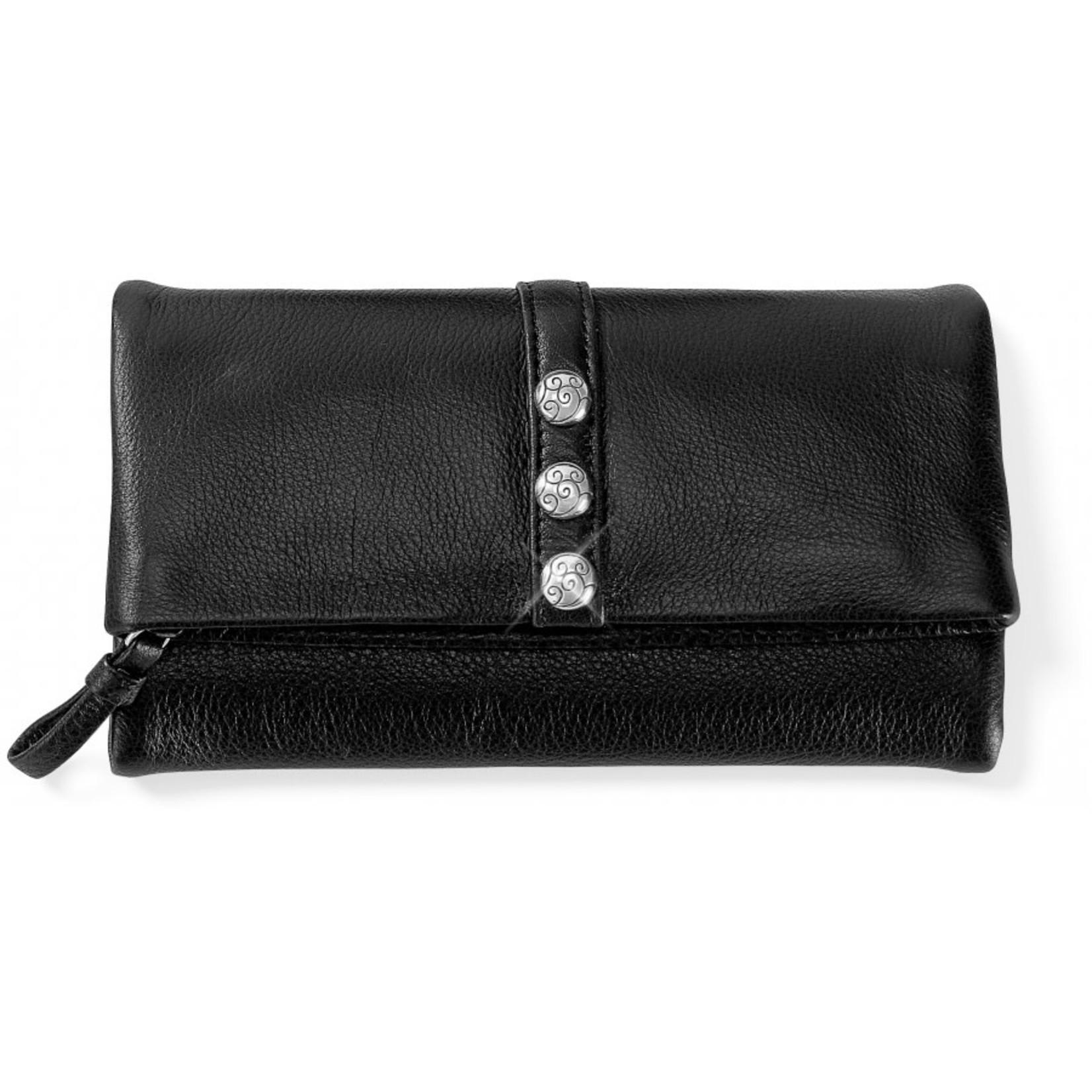 Brighton Nolita Shimmer Large Wallet Black