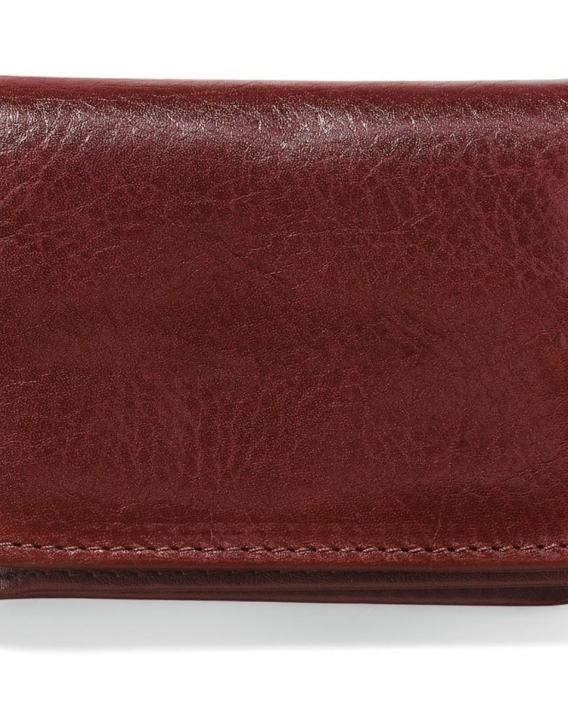 Brighton Carnegie Flip Wallet Brown