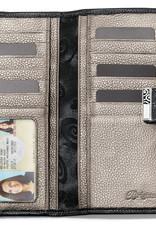 Brighton Barbados Large Pocket Wallet Black