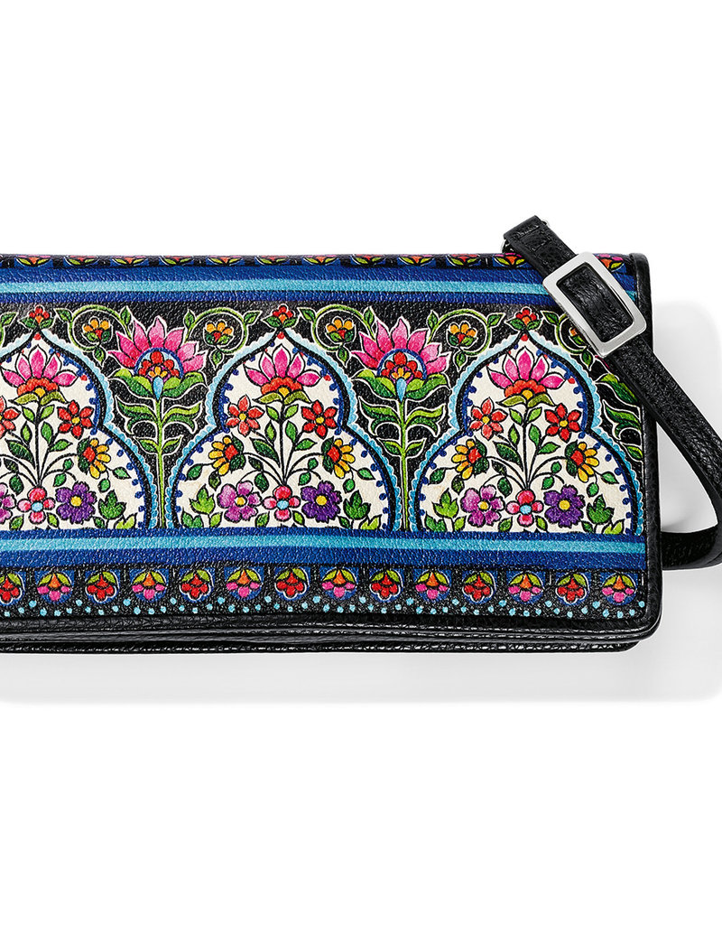 Brighton Journey To India Large Wallet Multi