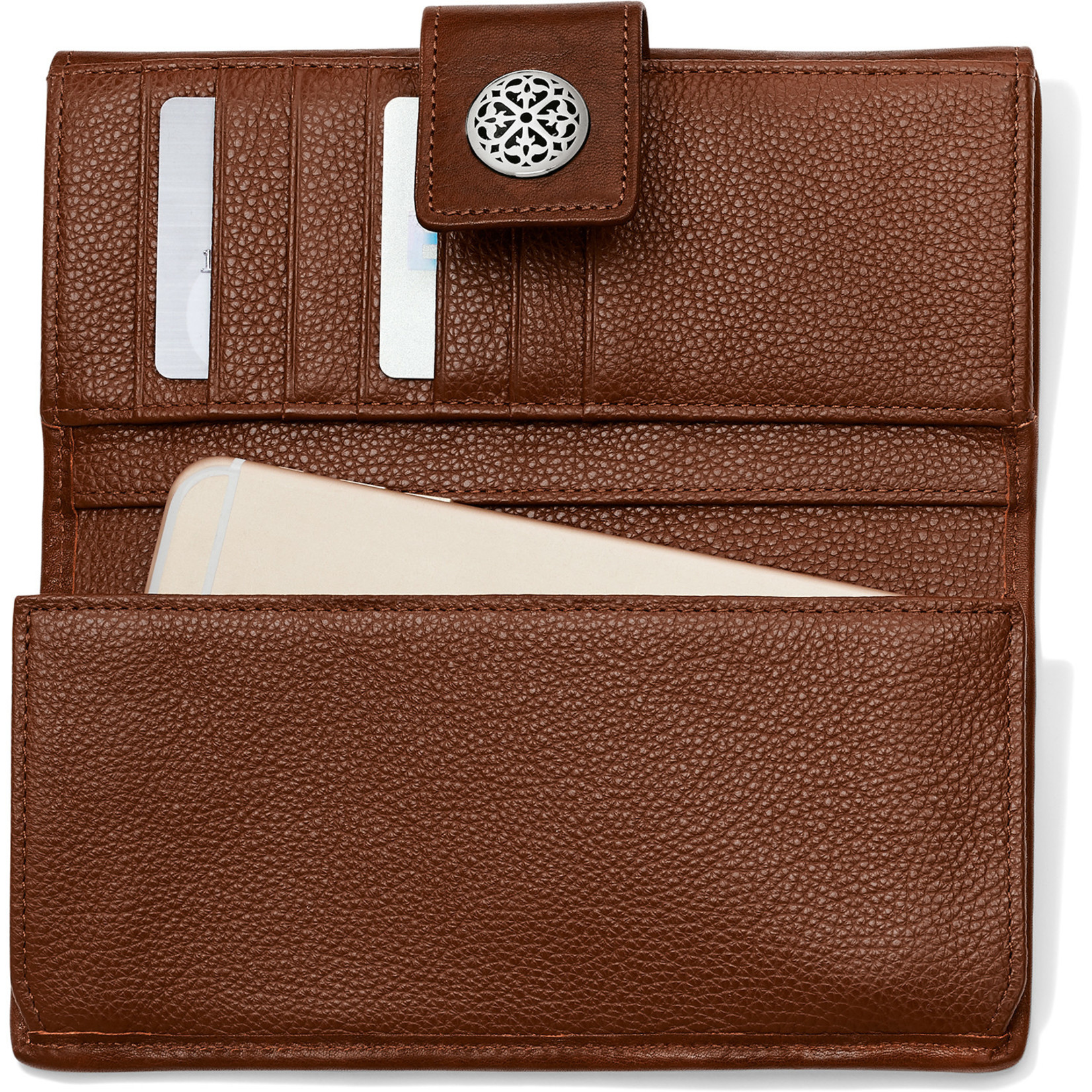 St. Tropez Slim Large Wallet Whisky