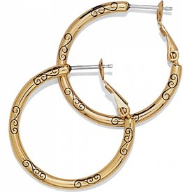 Brighton Small Earring Charm Hoop Gold