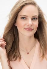 Brighton Twinkle Mini Post Earrings Ruby