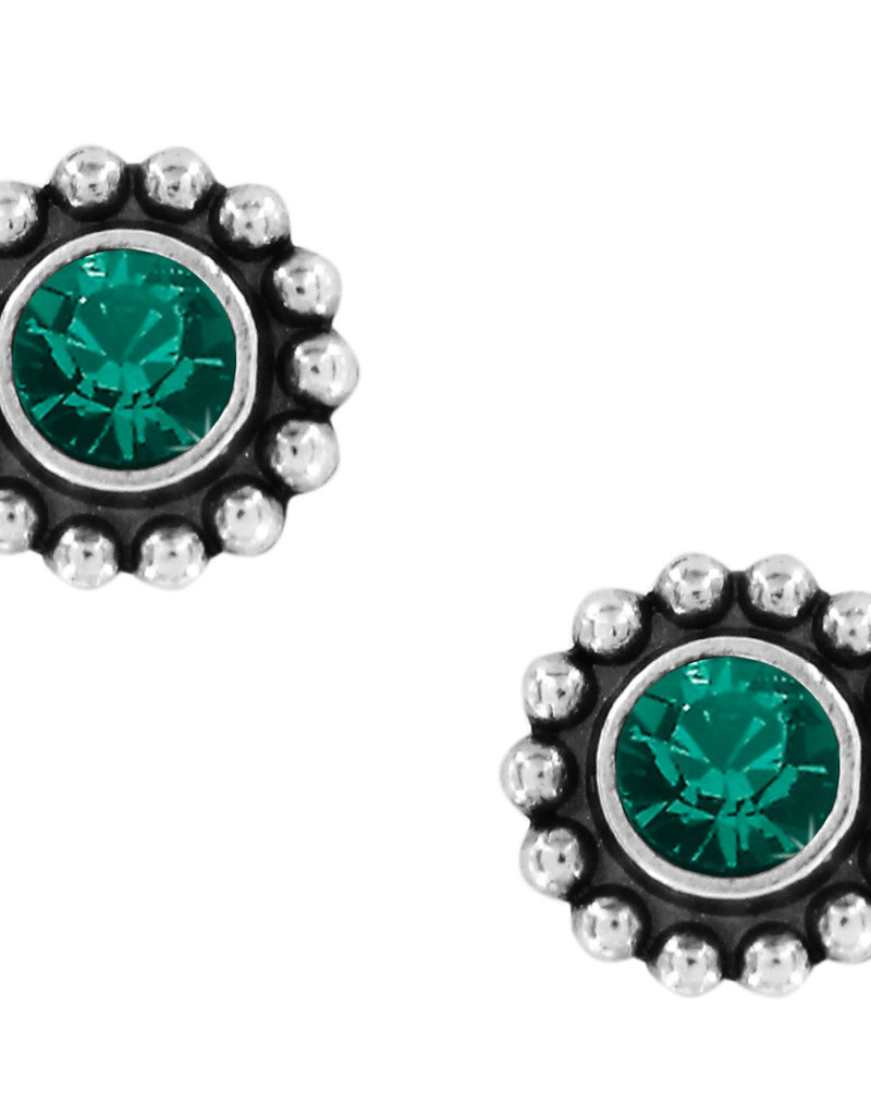 Brighton Twinkle Mini Post Earrings Emerald