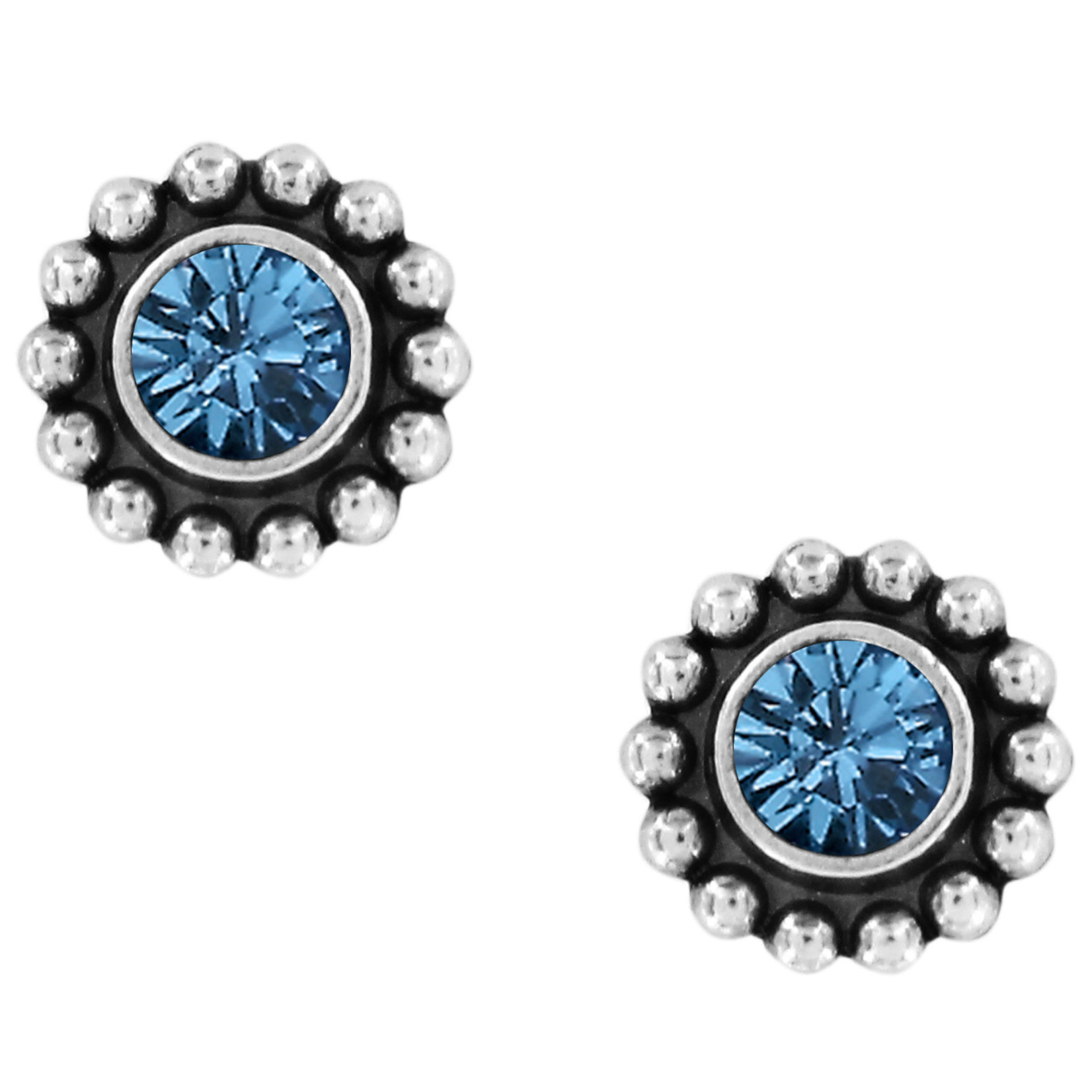Brighton Twinkle Mini Post Earrings Sapphire