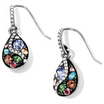 Brighton Trust Your Journey French Wire Earrings silver Pastel Multi