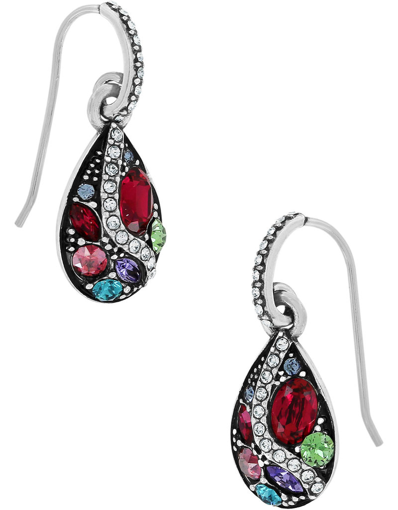 Brighton Trust Your Journey French Wire Earrings Silver Multi