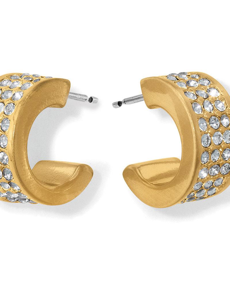Brighton Meridian Zenith Hoop Earrings Gold