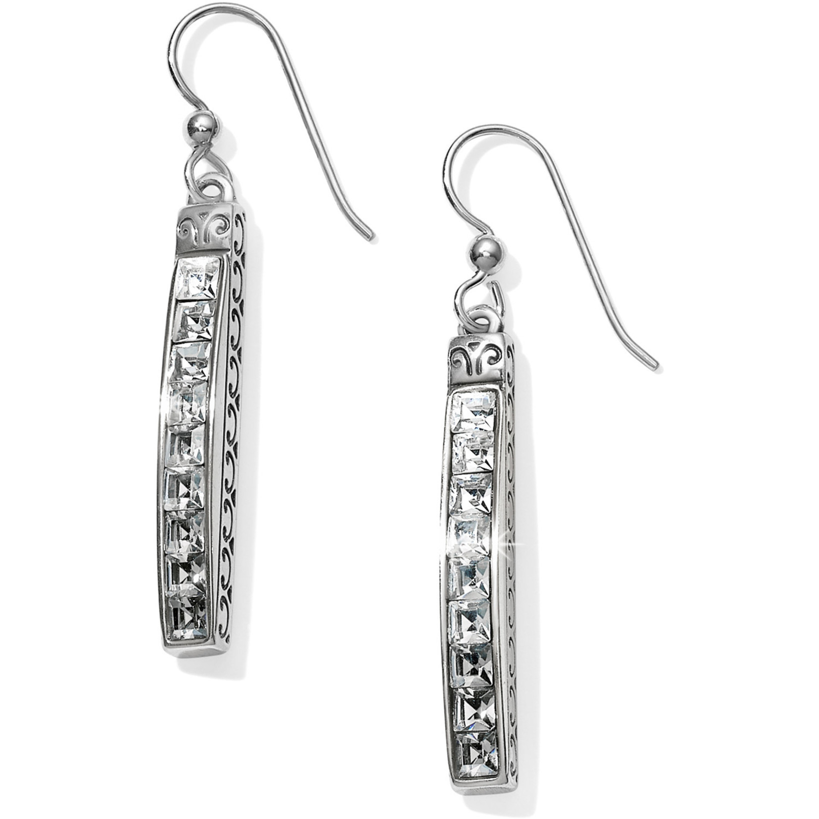 Brighton Spectrum French Wire Earrings Ice