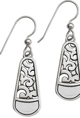 Brighton Catania French Wire Earrings Silver-Gold