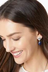 Brighton Mediterranean Petite Post Drop Earrings Blue