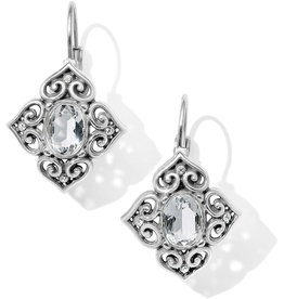 Brighton Alcazar Chrystalline Leverback Earrings