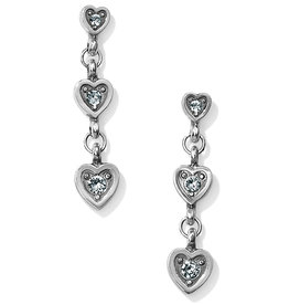 Brighton Meridian Love Notes Post Drop Earrings