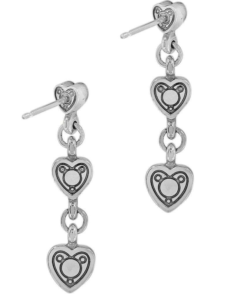 Brighton Meridian Love Notes Post Drop Earrings