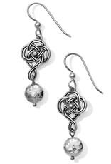 Brighton Interlok Knot French Wire Earrings