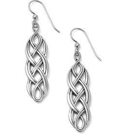 Brighton Interlok Braid French Wire Earrings