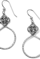 Brighton Interlok Petite Knot Circle French Wire Earrings