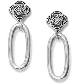 Brighton Interlok Petite Knot Post Drop Earrings