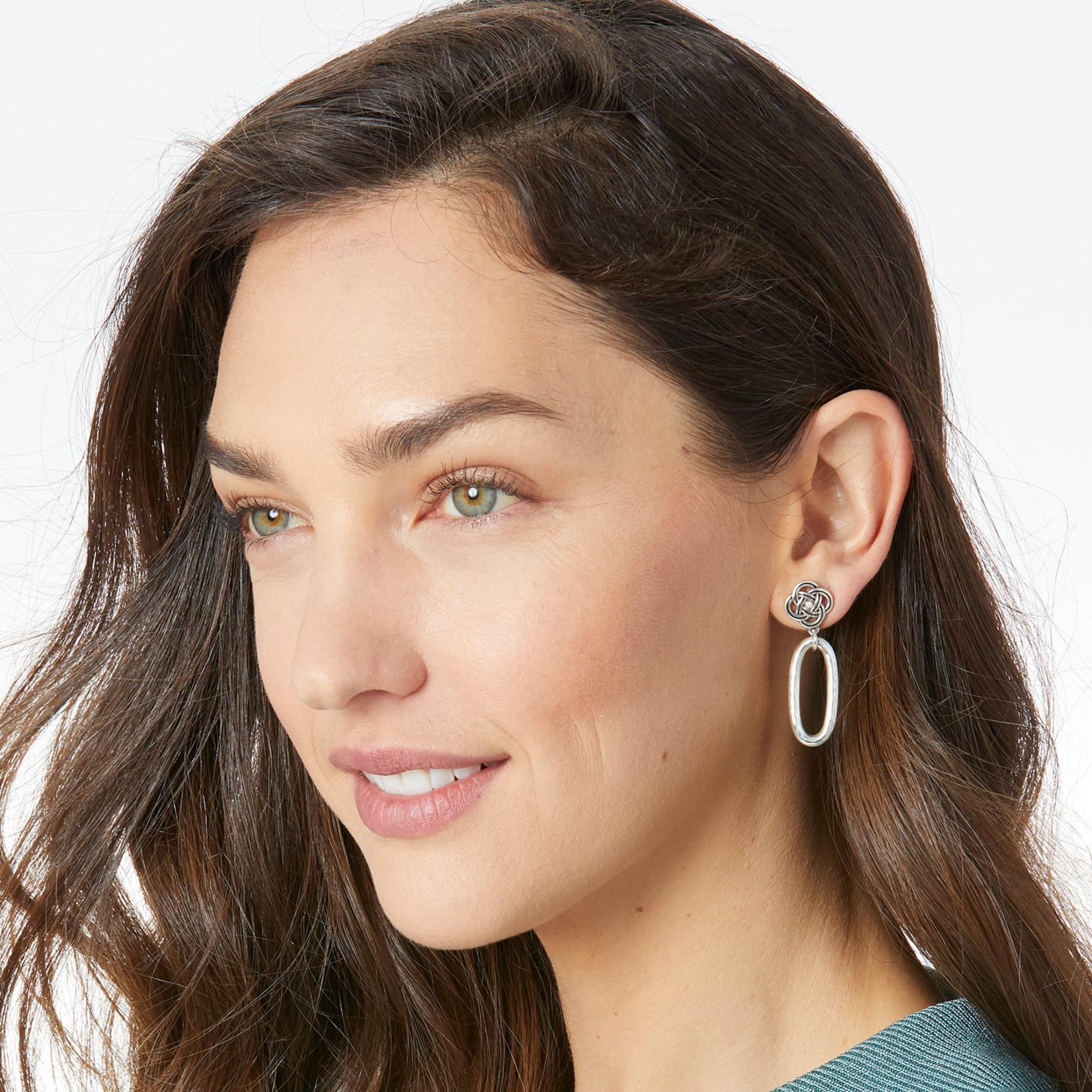 Brighton Interlok Petite Knot Post Drop Earrings