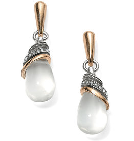 Brighton Neptune's Rings Crystal Teardrop Earrings