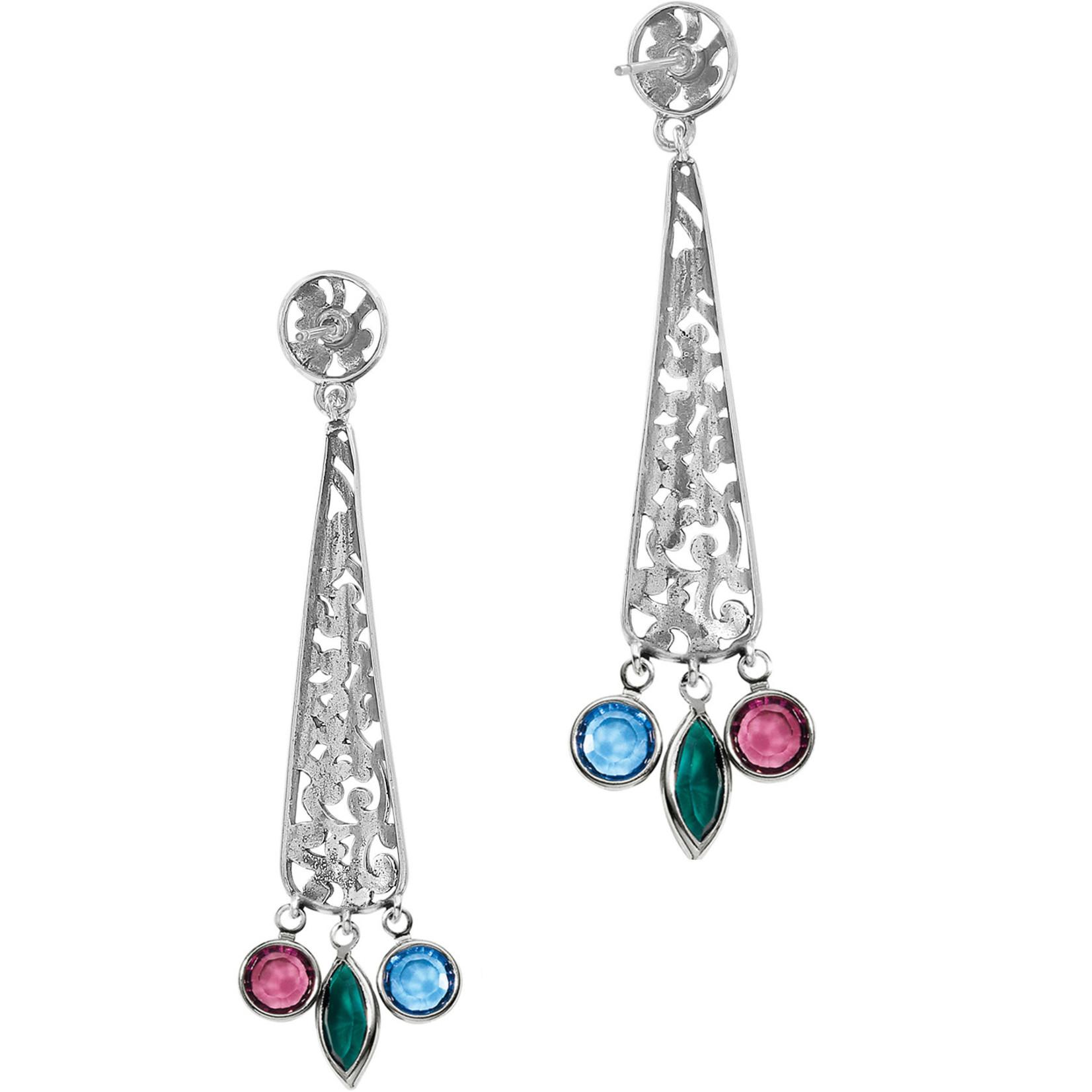 Brighton Elora Gems Post Drop Earrings